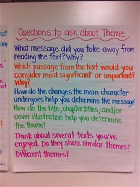 how to teach themes of a story 1000 images about teaching theme in literature on