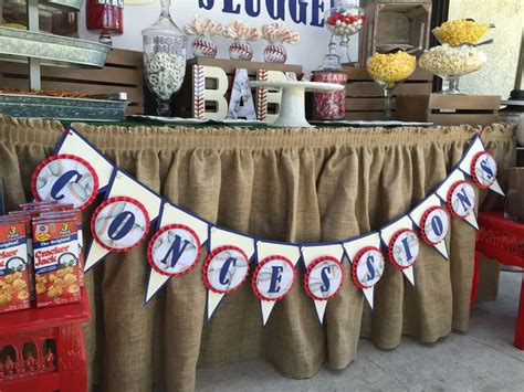 Baseball Baby Shower Decorations by Classic Baseball Baby Shower Baby Shower Ideas Themes
