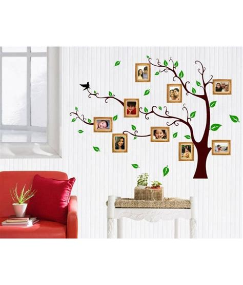 3d Sticker On Snapdeal by Stickerskart Wall Stickers Living Room Family Photo Tree