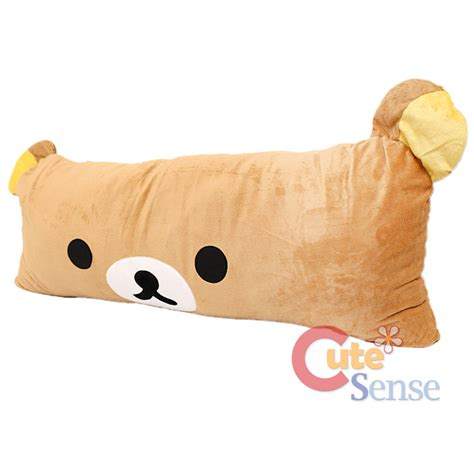 rilakkuma pillow bed cushion jumbo 38 quot ebay