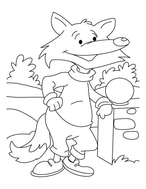 Fox Coloring Pictures Coloring Home Fantastic Mr Fox Colouring Pages