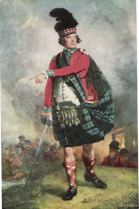 Scottish Highlander Warrior Pictures To Pin On Pinterest | 18th century scottish highland warrior 1700s scottish
