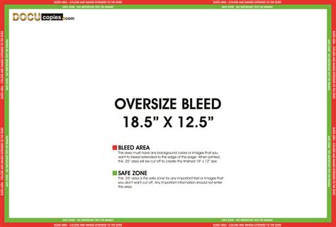 Template Not Bleed Learn About Printing Your Next Project With Bleeds