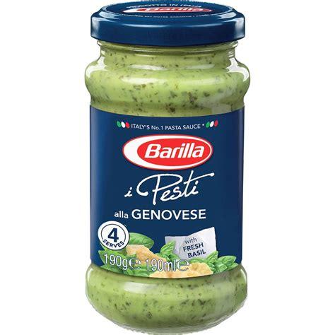 Agnesi Pesto Alla Genovese Sauce Pasta barilla pesto alla genovese 190g woolworths