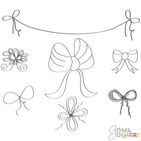 doodle bar burlesque drawing clip doodle bows and ribbons p h o t o s h o p