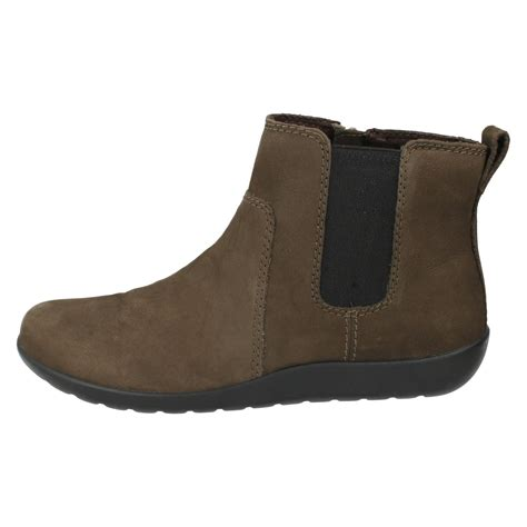 clarks leather ankle boots style medora grace n