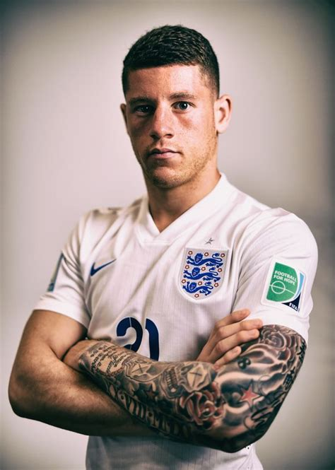 tattoo removal liverpool everton fans fear the worst as ross barkley is pictured at