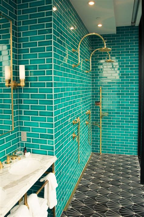 Design For Turquoise Glass Tile Ideas 25 Best Ideas About Teal Bathrooms On Teal Bathrooms Designs Teal Bathrooms