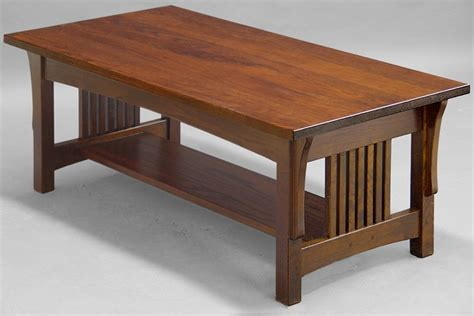 mission style coffee table design images  pictures