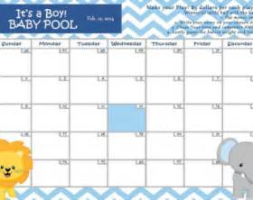 baby pool calendar template 8 best images of baby pool calendar printable baby pool