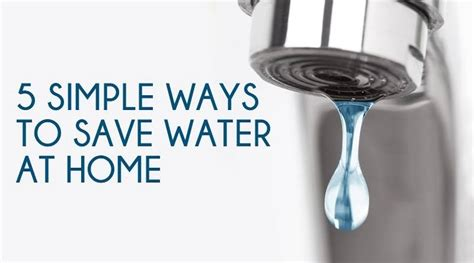 water conservation methods at home green lotus avenue