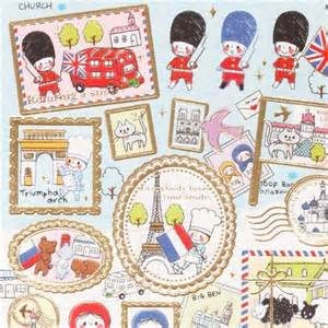 Cute Animal Mugs kawaii travel stickers from japan england amp france cute