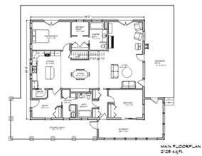 Farmhouse Floorplans by Eco Farmhouse Plan