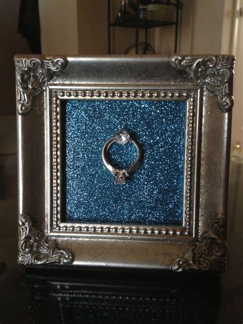 Best 25  Ring holder frame ideas on Pinterest   Diy