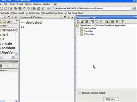 tutorial online compiler matlab tutorial 98 working with the matlab compiler