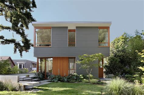 shed architecture design seattle modern architects warm modern home full of concrete and wood details