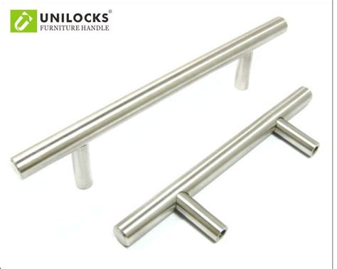 6x stainless steel 12x50mm t bar pulls knobs kitchen stainless kitchen cabinet kitchen pcs stainless steel