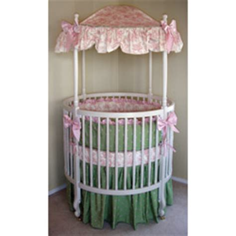 round crib bedding sets audrey round crib bedding