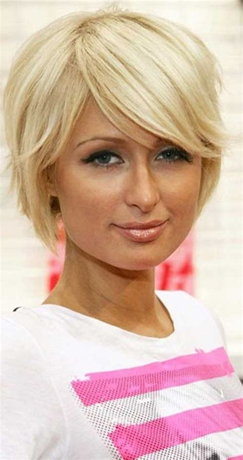 parisian bob hairstyle paris hilton short hair images