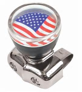 usa american flag steering wheel spinner knob