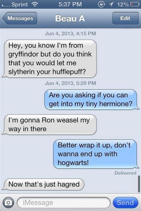 How To Find To Sext 22 Quot Harry Potter Quot Puns That Are So Bad They Re
