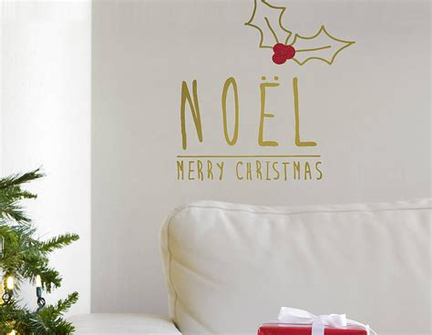 gold wall stickers gold noel wall sticker contemporary wall