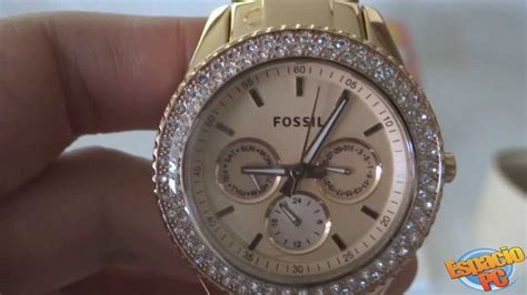 Fossil Es3923 Chelsey Multifunction Tortoise And Acetate relojes fossil dama