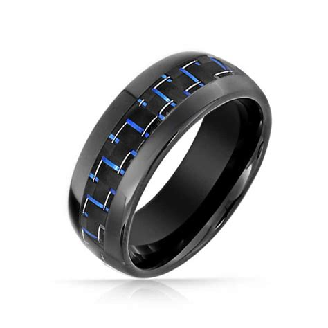 Tungsten Ring Wedding cool wedding ring 2016 blue tungsten wedding rings