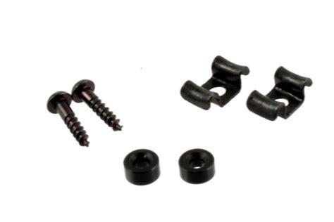 Diskon String Guides Ferulle Top Loading Set Black black string guides allparts
