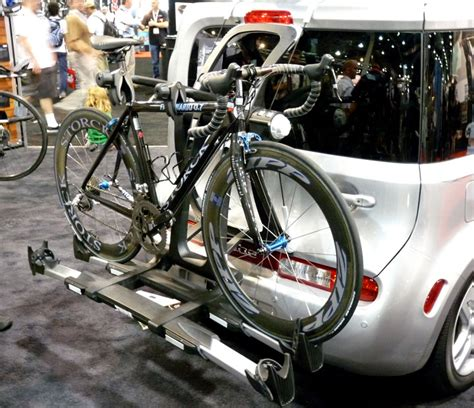 interbike 2009 new tray style on bike rack from
