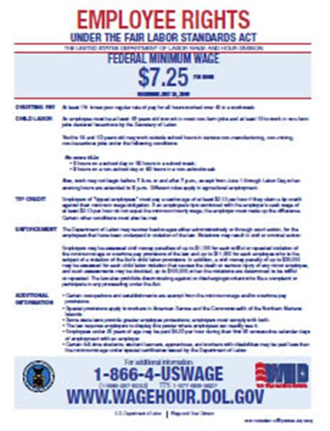printable eppa poster required posters uosh utah labor commission