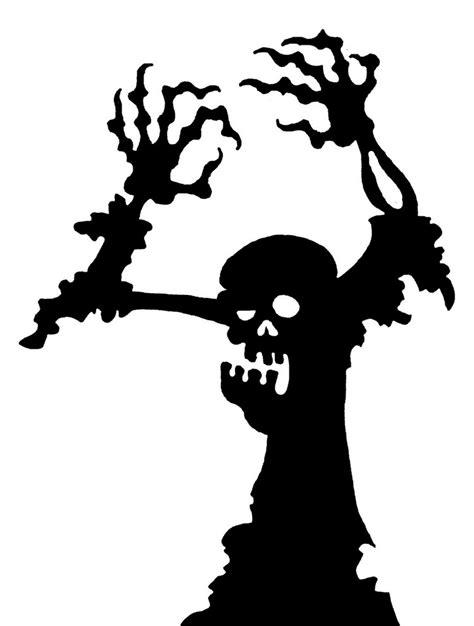 zombie kostüm tutorial fensterdeko halloween vorlage zombie zuhause dekor ideen