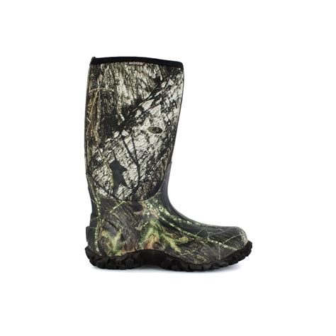 mens rubber boots size 14 bogs classic camo s 15 in size 14 mossy oak rubber