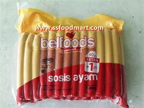 bernardi sosis sapi sausages isi  pcs  gr ss food mart
