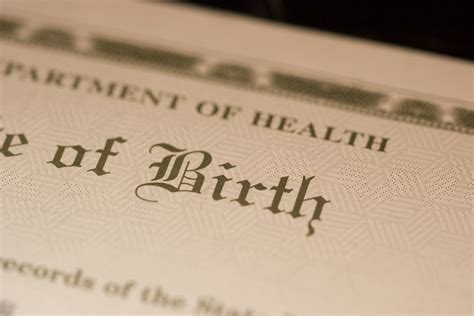 Birth Records In How To Get A Replacement Birth Certificate Vitalchek
