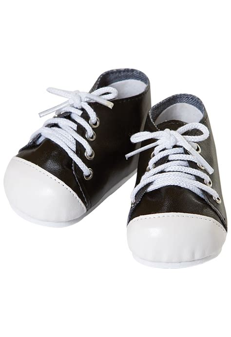 tennis shoes for baby adora baby doll shoes tennis shoes black white