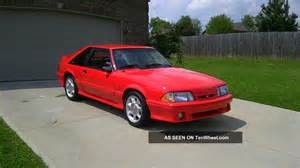 1993 ford mustang svt cobra hatchback 2 door 5 0l