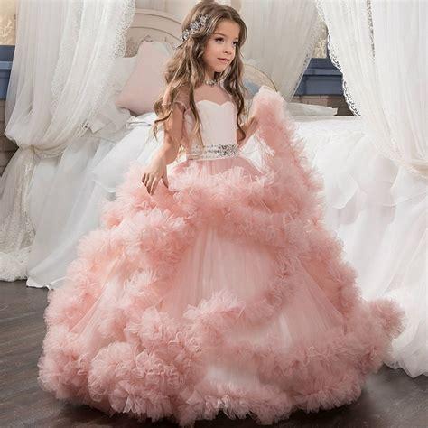 Dress Babycute Coksu wedding dress princess dress gown clothes baby floor satin dresses