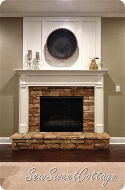 DIY board and batten fireplace remodel under $65 dollars