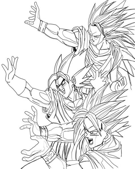 dragon ball z gogeta coloring pages dragon ball z gogeta coloring pages picture coloring home