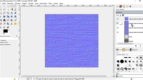 gimp creating normal maps gimp create normal bump specular and diffuse map