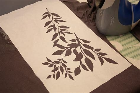 How To Make Freezer Paper Stencils - freezer paper stencil for fabric paint fabric creations