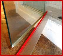 shower door drip rail shower door drip rail photo showing 3m vhb transparent