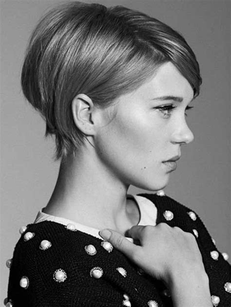 lea seydoux hairstyle cute easy hairstyles for short hair the best short