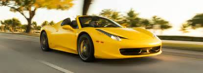 Rent A 458 For A Day Rent Miami 458 Spider Mph Club 174