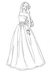 barbie princess dress drawing drawing art library