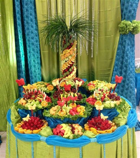 fruit table eventos candy pinterest fruit tables