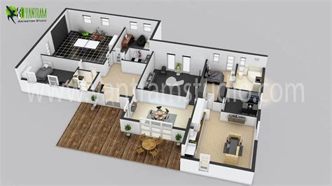 3d house floor plan house 3d floor plan by yantramstudio 3d modeling architecture