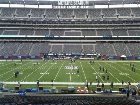 metlife stadium section 139 metlife stadium section 139 giants jets rateyourseats com