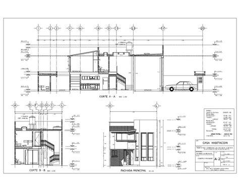 proyecto de casa foto proyecto de casa habitacion de proyectos